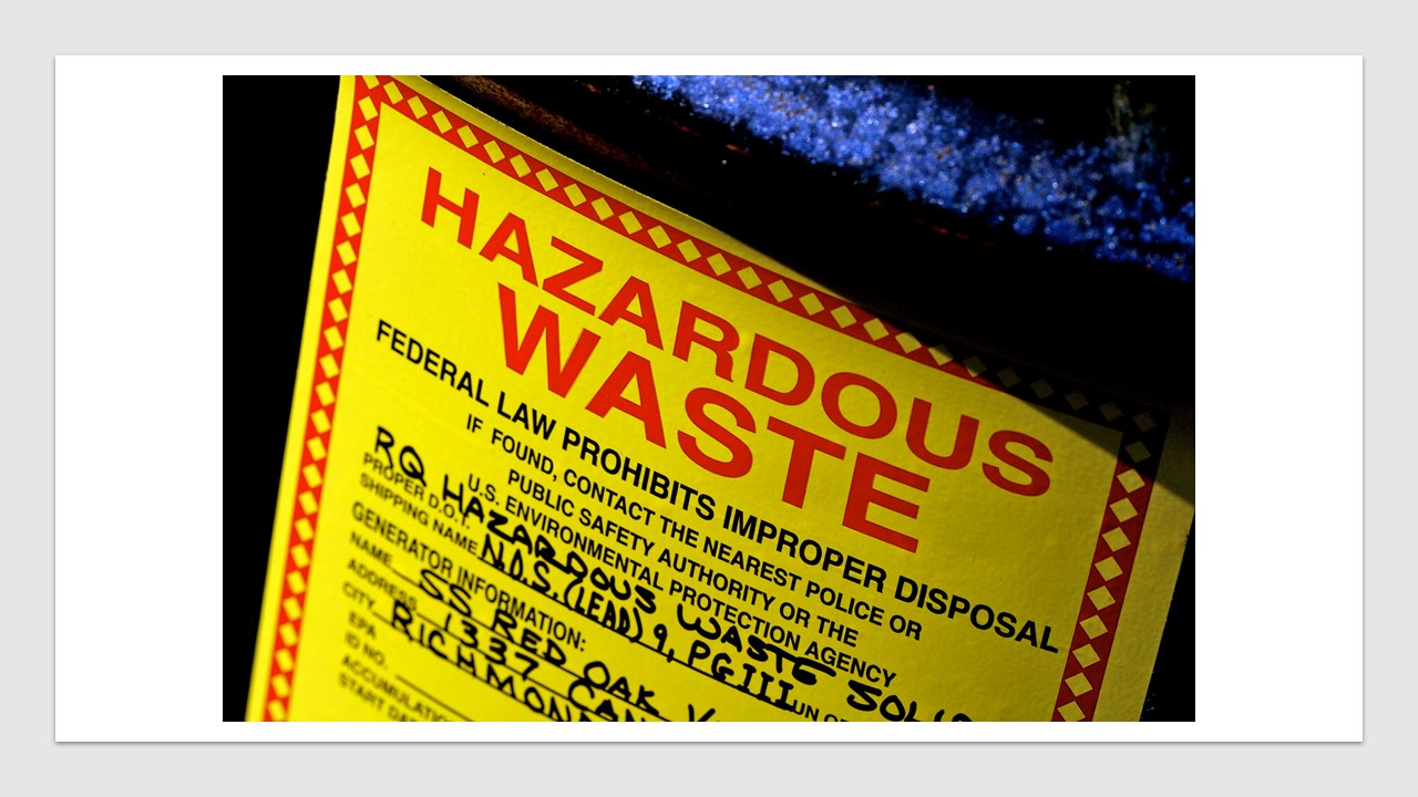 Lab Hazardous Waste