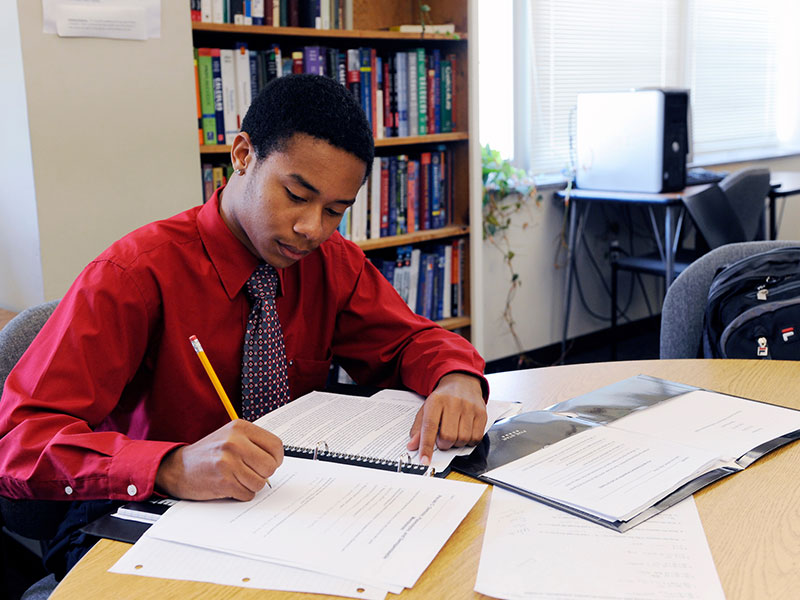 Students tutoring students