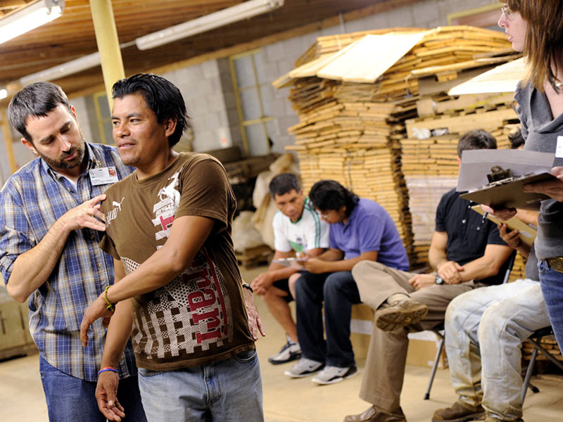 College of Health and Human Sciences outreach program for migrant farm workers